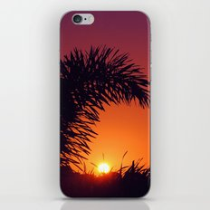 sunset in mexico iPhone Skin