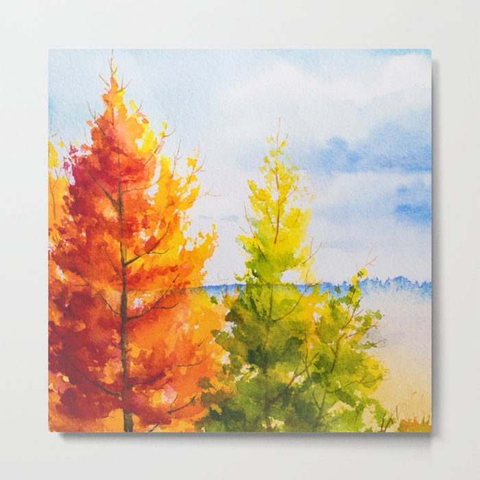 Autumn scenery #21 Metal Print