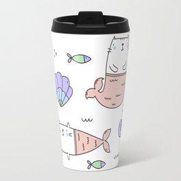 Merkats Coral Travel Mug