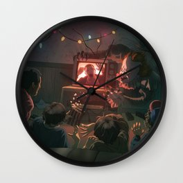 It's Halloween Wall Clock