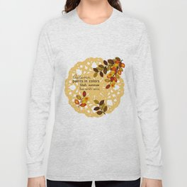 Painting In Colors Long Sleeve T-shirt