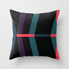 Deviations Throw Pillow