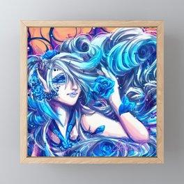 Azula- Rose Fairy Framed Mini Art Print