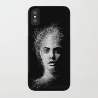 cara iPhone & iPod Cases featuring CARA by naidl
