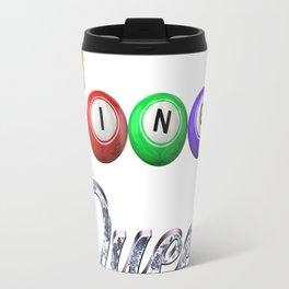 Bingo Queen Diamond 3 Travel Mug