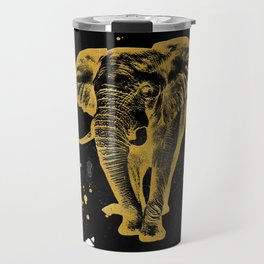 Golden Elephant Travel Mug