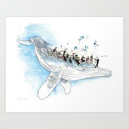 Underwater Symphony Art Print