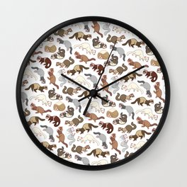 Furry Friends Wall Clock