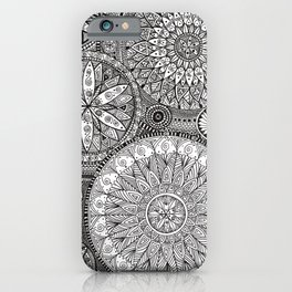 All Over Mandala Design iPhone Case