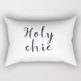Holy chic Rectangular Pillow