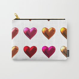 Red heart art Carry-All Pouch