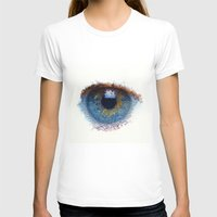iris T-shirts featuring Iris by Paul Kimble
