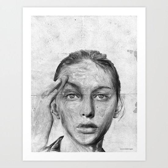 A short goodbye Art Print