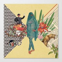Baghdad nights Canvas Print