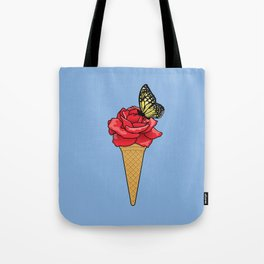 Butterfly Ice Cream Tote Bag