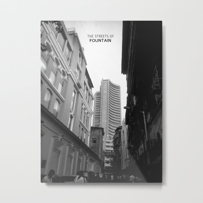 Bombay - New perspective, new perception. Metal Print