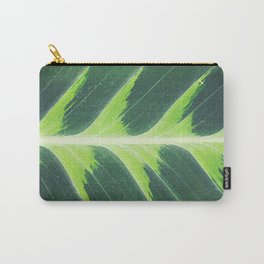 Leaf green Carry-All Pouch