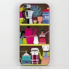 Coffee Lovers Shelf iPhone Skin