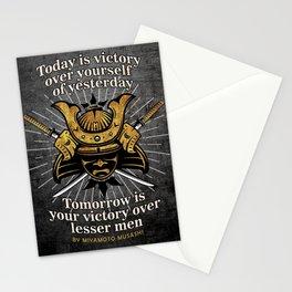 Miyamoto Musashi - Today is victory Stationery Cards