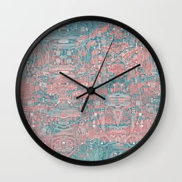 Circuitry Details 2 Wall Clock