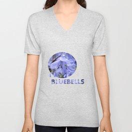 Bluebell Glade Unisex V-Neck