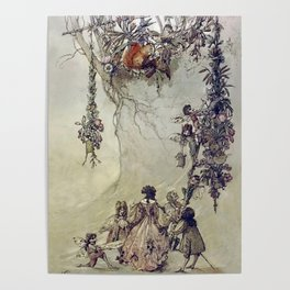 """""""The Fairies Ascent"""" by A. Duncan Carse Poster"""