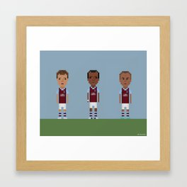 Aston Villa trio Framed Art Print