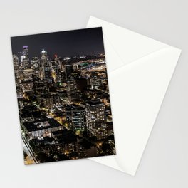 Seattle from the Space Needle Stationery Cards