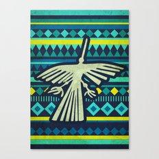 Nazca Condor Canvas Print