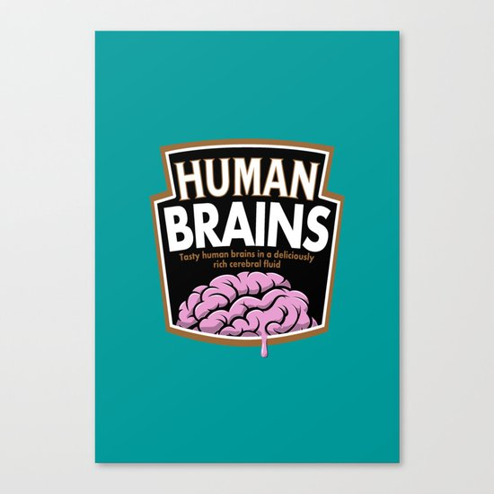 Human Brains Canvas Print