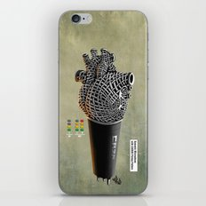 CRZN Dynamic Microphone - 002 iPhone & iPod Skin