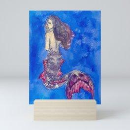 Mermaid #3 Mini Art Print