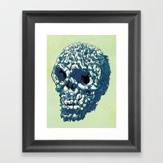 Bunny Skull Uprisings  Edition Framed Art Print