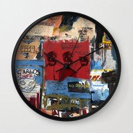 Gun Club Psychology Wall Clock