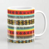 ethnic Mugs featuring Ethnic by Katya Zorin