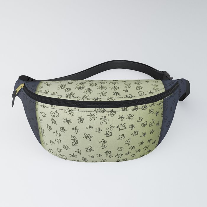Hand drawn flowers Fanny Pack