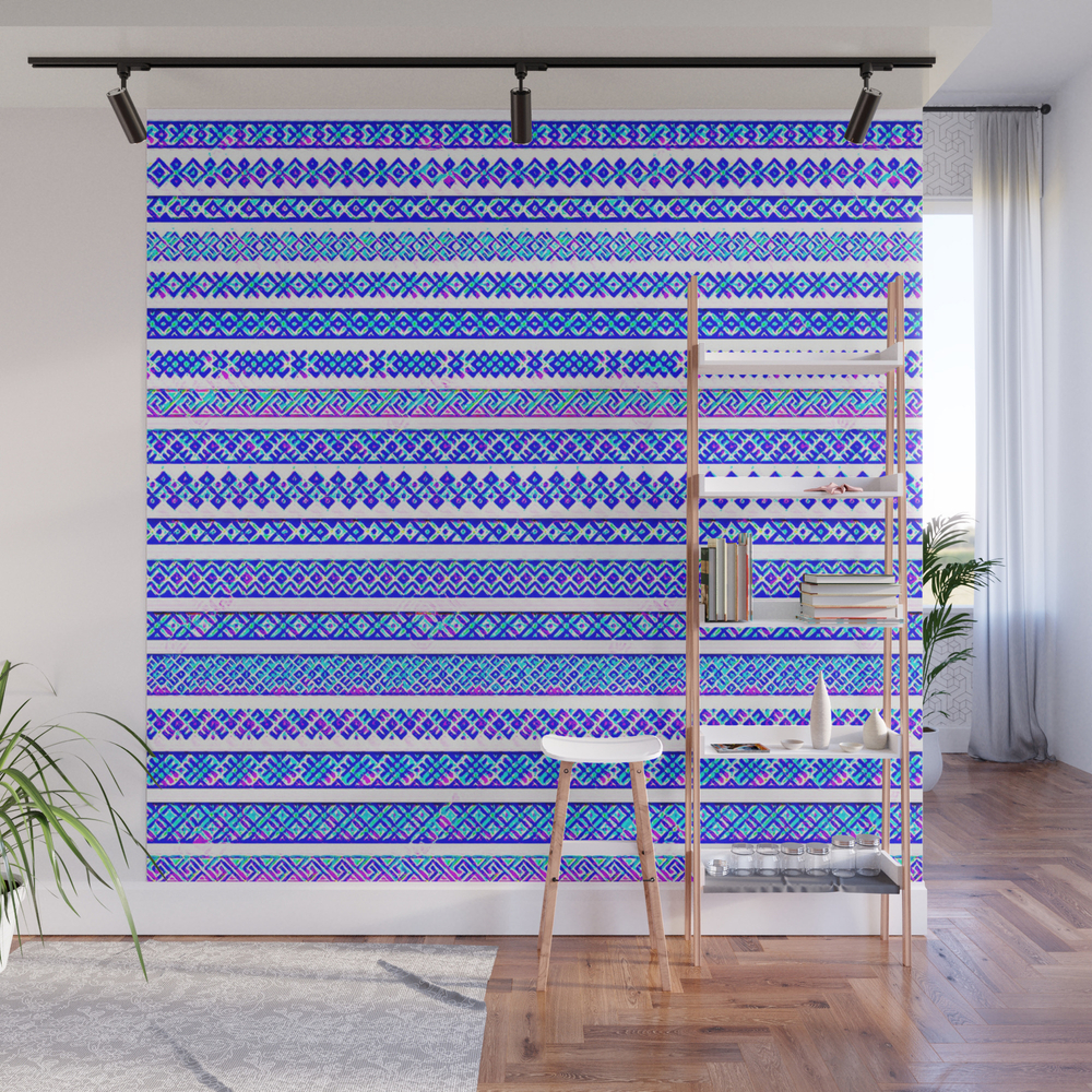 Blue_And_Purple_Friendship_Bracelets_Wall_Mural_by_jellyrelish