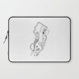 New Jersey Mermaid Laptop Sleeve