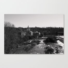 Social Commentary Canvas Print