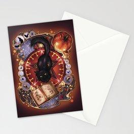 Black Cat Magic Stationery Cards
