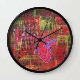 The Hearts Dirty Lesson Wall Clock