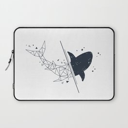Shark. Geometric style Laptop Sleeve