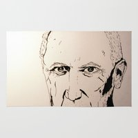 pablo picasso Area & Throw Rugs featuring Pablo by Alexandra V.