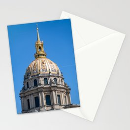 Hotel des Invalides dome in Paris Stationery Cards