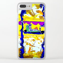 Arrival of the Queen of Sheba        by Kay lipton Clear iPhone Case