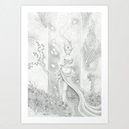 Sprite Art Print