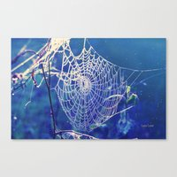 dreamcatcher Canvas Prints featuring dreamcatcher by Luiza Lazar