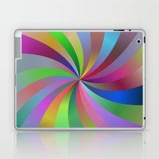Happy spiral Laptop & iPad Skin