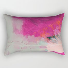 new abstract 1 Rectangular Pillow