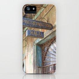 New Orleans Jazz Club iPhone Case